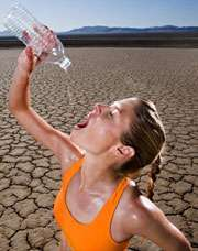 Признаки нарушения водного баланса