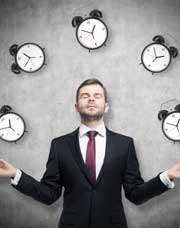 Уметь управлять своим временем